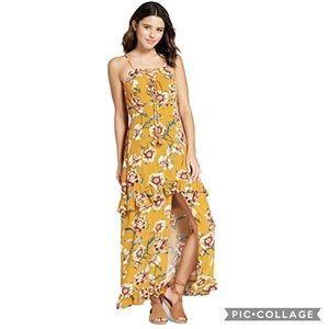 Xhilaration Floral Maxi Dress size Small